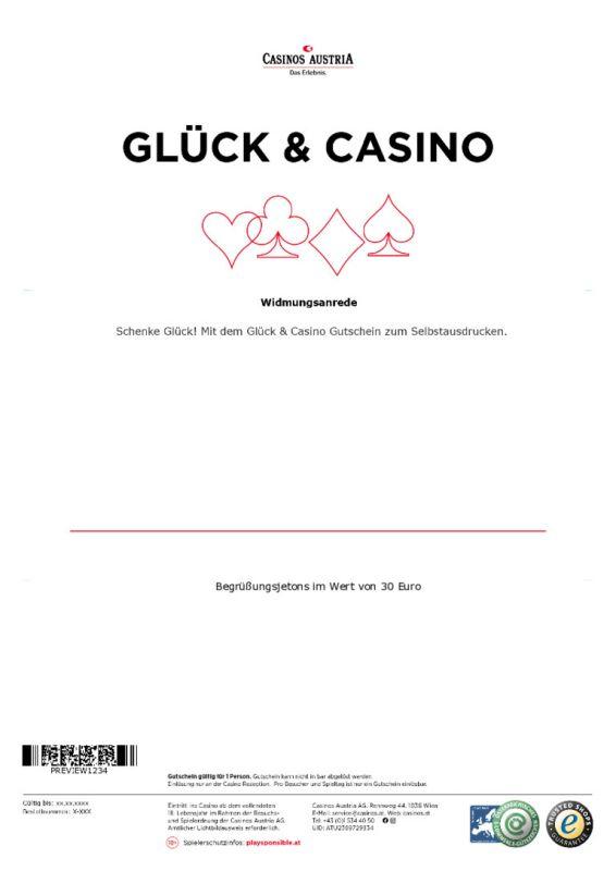 Casino Gutscheine