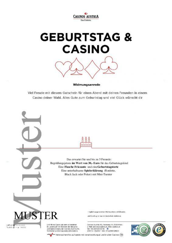 gutschein casino austria